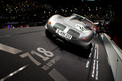 1957 Porsche 718 at Geneva 2016 Stock Image
