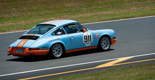 Porsche 911 golf 964RS Royaltyfria Foton