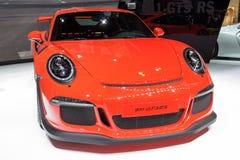 Porsche 911 GR 3 RS sportbil Royaltyfri Bild