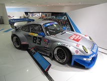 Porsche 911 GT2 εξέλιξη στο μουσείο της Porsche Στοκ Εικόνα