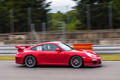 Porsche 911 GT3 Fotografia Stock