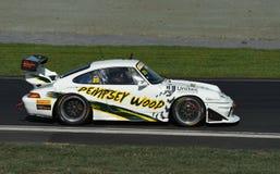 Porsche GT3 bieżny samochód Zdjęcia Royalty Free