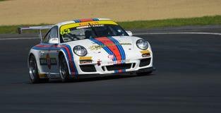 Porsche GT3 bieżny samochód Obrazy Royalty Free