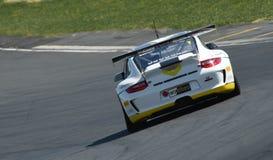 Porsche GT3 bieżny samochód Zdjęcia Stock