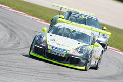 Porsche 911 GT3 Cup RACE CAR Stock Photography