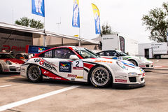 Porsche 997 GT3 Cup Stock Image