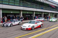 Porsche 911 GT3 Cup Stock Images