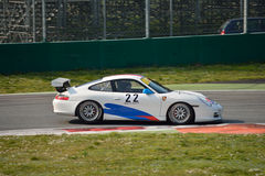 Porsche 911 GT3 Cup (Type 996) at Monza Stock Images
