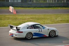 Porsche 911 GT3 Cup (Type 996) at Monza Royalty Free Stock Photos