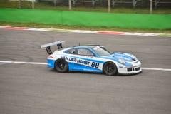 Porsche 911 GT3 de test van 2016 in Monza Stock Afbeeldingen