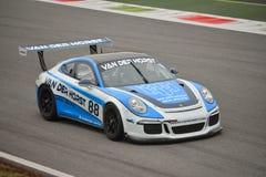 Porsche 911 GT3 de test van 2016 in Monza Royalty-vrije Stock Afbeeldingen