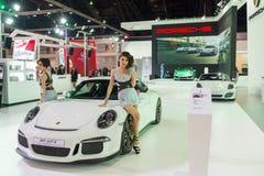 Porsche 911 GT3 on display Stock Image