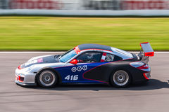 Porsche 997 GT3 filiżanki bieżny samochód Obraz Royalty Free