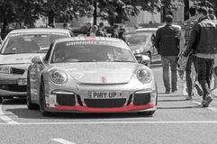 Porsche 911 GT3 3.8 - Gumball 3000 - 2016 Edition - Dublin to Bucharest Stock Image