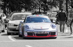Porsche 911 GT3 3.8 - Gumball 3000 - 2016 Edition - Dublin to Bucharest Stock Photography