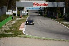 Porsche 911 GT3 het testen van RSR GTE in Monza royalty-vrije stock afbeeldingen
