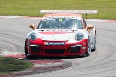 Porsche 911 GT3 Kopraceauto Royalty-vrije Stock Foto's
