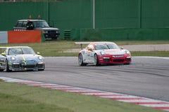 Porsche 911 GT3 Kopraceauto Royalty-vrije Stock Fotografie
