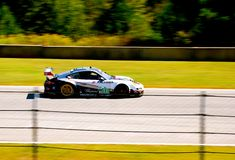 Porsche gt3. At petit lemans Royalty Free Stock Image