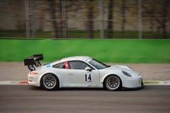 Porsche 911 GT3 R en Monza Foto de archivo