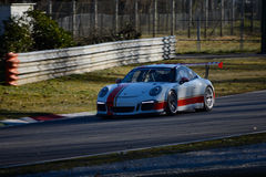 Porsche GT3R Italian Carrera Cup 2015 Royalty Free Stock Photos