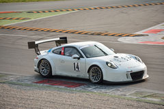 Porsche 911 GT3 R at Monza Royalty Free Stock Photography