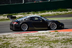 Porsche 911 GT3-R testing at Monza Royalty Free Stock Images