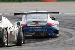 PORSCHE 997 GT3 RACE CAR Stock Photography