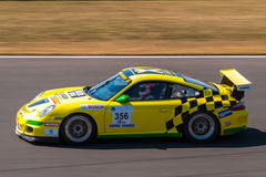 Porsche 911 GT3 race car Royalty Free Stock Photos