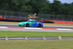 Porsche GT race car Royalty Free Stock Photos