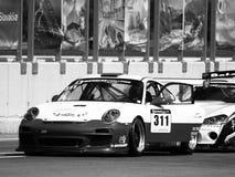 Porsche 911 GT3 raceauto Stock Fotografie