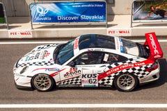 Porsche 911 GT3 raceauto Stock Afbeeldingen