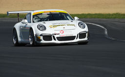 Porsche GT3 racing car Royalty Free Stock Image