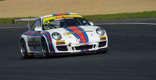 Porsche GT3 racing car Royalty Free Stock Images
