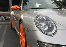 Porsche 911 GT3 RS Foto de Stock Royalty Free
