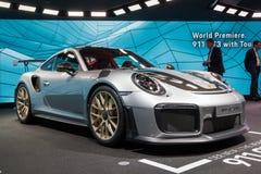 Porsche 911 GT2 RS sportbil 2018 Arkivfoto