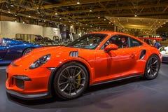 Porsche 911 GT3 RS sportbil Arkivbild