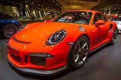 Porsche 911 GT3 RS sportbil Fotografering för Bildbyråer