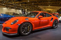 Porsche 911 GT3 RS sports car Stock Photography