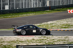 Porsche 911 GT3 RSR GTE testing at Monza Stock Photography