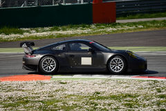 Porsche 911 GT3 RSR GTE testing at Monza Royalty Free Stock Images