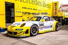 Porsche 997 GT3 RSR Royalty Free Stock Photo
