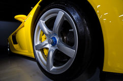 Porsche Gt rullar royaltyfria foton