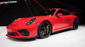 2018 Porsche 911 GT3 sportów samochód Obraz Royalty Free