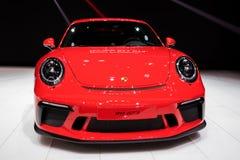 2018 Porsche 911 GT3 sportów samochód Zdjęcie Stock
