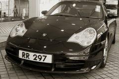 Porsche 911 GT3 sportów samochód parkujący Fotografia Stock