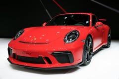 2018 Porsche 911 GT3 sportwagen Stock Afbeeldingen