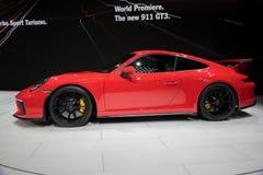 2018 Porsche 911 GT3 sportwagen Royalty-vrije Stock Afbeelding