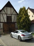 Porsche GT Royalty Free Stock Photography