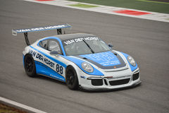 Porsche 911 GT3 2016 test at Monza Royalty Free Stock Images
